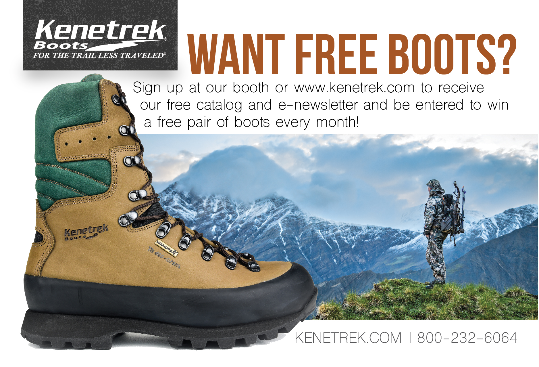 Want free boots?